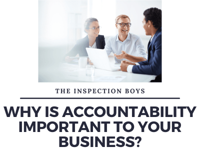 Why is accountability important to your business?